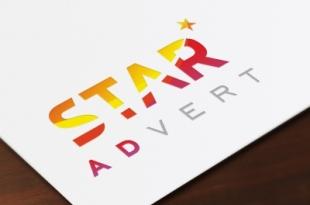 """""""StarADvert"""" - рекламно-производственная компания, логотип и фирменный стиль."""